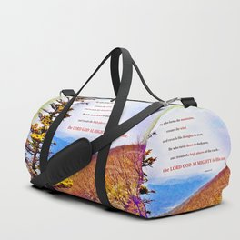 High Places Duffle Bag