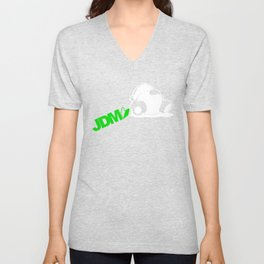 Sleepy Panda JDM Unisex V-Neck