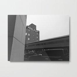 Hotel Elliot Metal Print