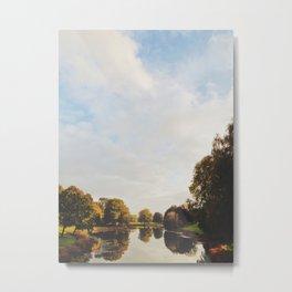 Lake Sacajawea Metal Print