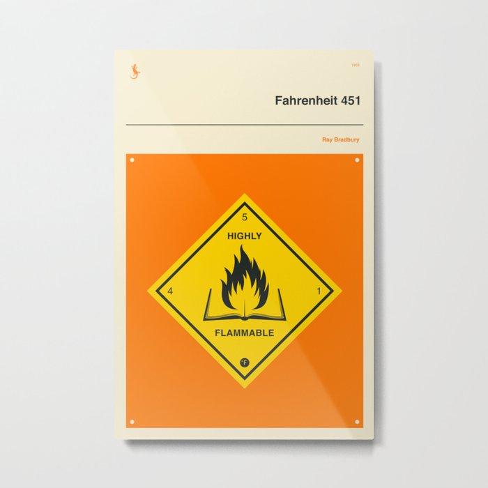 °F 451 Metal Print