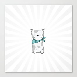 Shining Cat Canvas Print