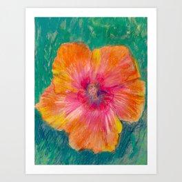 Hip Hibiscus Art Print