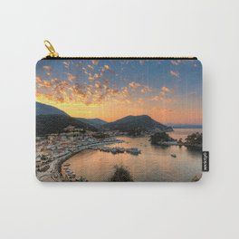 Sunrise in the bay of Parga, Greece Carry-All Pouch