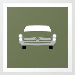 Pontiac GTO ( 1967 ) Art Print