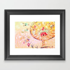 Joy Ride... Framed Art Print