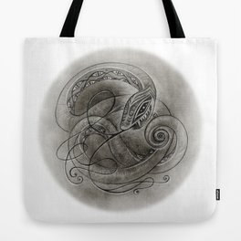 Norse Snake Tote Bag