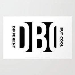 DBC w/ Tag on side Art Print