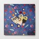 3 Wise Owls in Flower Garden at Night by cute4kids
