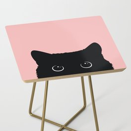 Black Cat Side Table