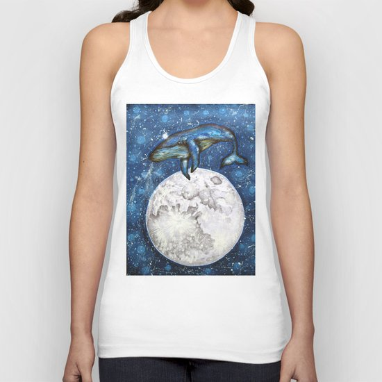 The Whale's Dream Unisex Tank Top