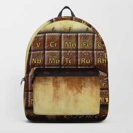 A Steampunk Periodic Table Backpack