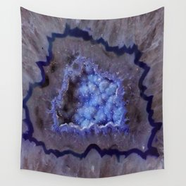 Quartz Inside Geode rustic decor Wall Tapestry