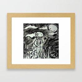 Heart in your hands Framed Art Print