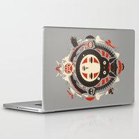 miyazaki Laptop & iPad Skins featuring A New Wind by Danny Haas