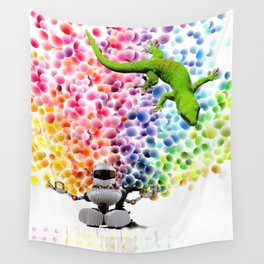 Candy Buttons Wall Tapestry