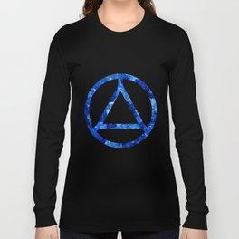 Sapphire Candy Gem Long Sleeve T-shirt