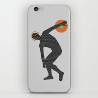 springsteen iPhone & iPod Skins featuring Vinylbolus by Sitchko Igor