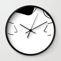 telephone Wall Clocks featuring Telephone by Jeremy Chow