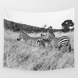 in a row::kenya Wall Tapestry