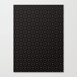 Monochrome madness Canvas Print