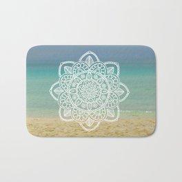 Beach Mandala Bath Mat