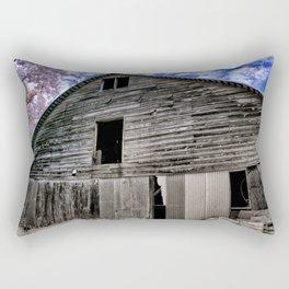 Old Barn at the Peach Farm Rectangular Pillow