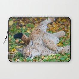 Playful Lynx Laptop Sleeve
