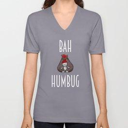 Bah Humbug Unisex V-Neck