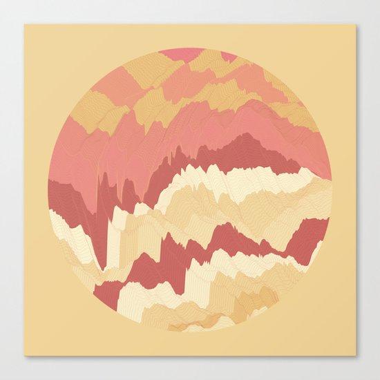 TOPOGRAPHY 009 Canvas Print