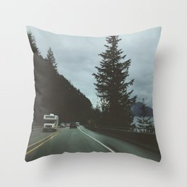 Camper Throw Pillow
