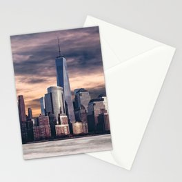Dramatic City Skyline - NYC Stationery Cards