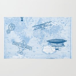 A Brief History of Flight Rug