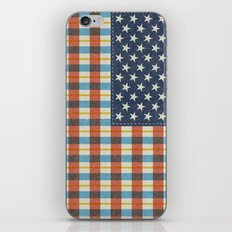 Plaid Flag. iPhone Skin