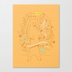 Bears Know Best Canvas Print