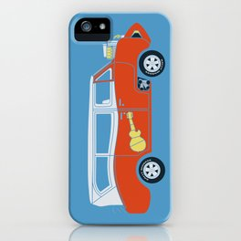 The  Monkeemobile Van iPhone Case