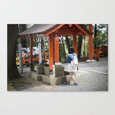Shrine Syojo Canvas Print