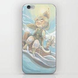 Sail Away (Legend of Zelda: Wind Waker) iPhone Skin