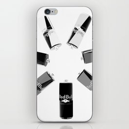 Gives you Wings Black And White iPhone Skin