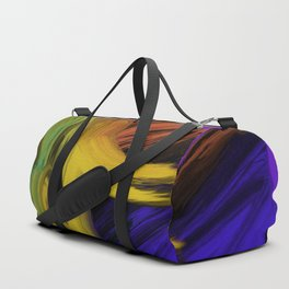 Abstract 3 Painting in Oil Duffle Bag