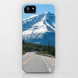 Canadian Rockies - Icefields Parkway Highway 93 iPhone Case