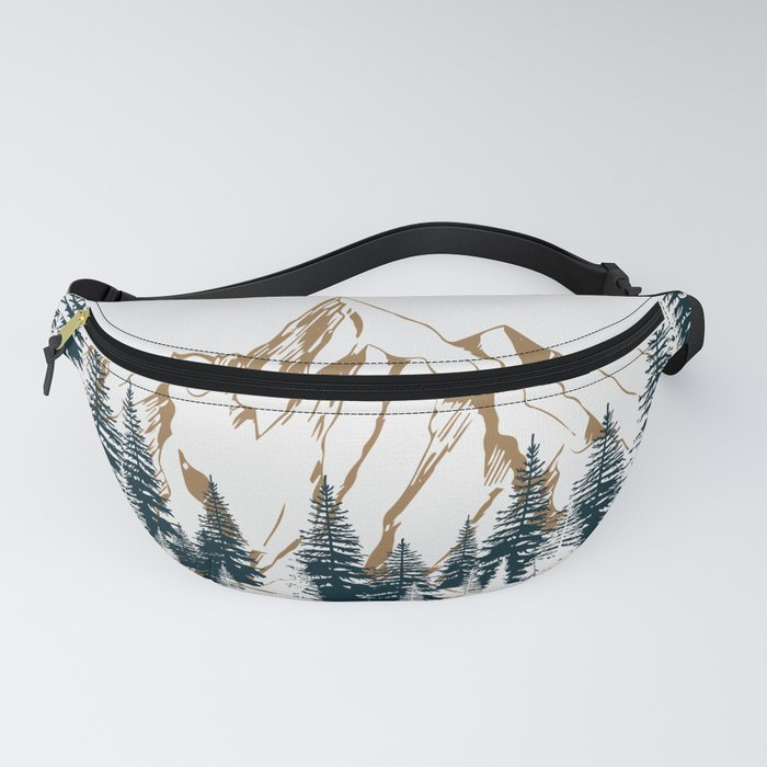 mountain # 4 Fanny Pack