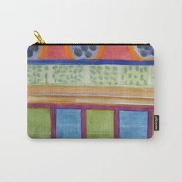 Paw Prints on the Wall Carry-All Pouch