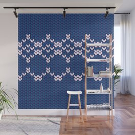 Scandinavian pattern Wall Mural