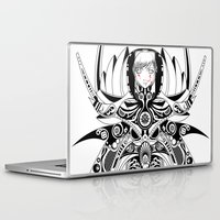 warrior Laptop & iPad Skins featuring Warrior by Alec Leigh