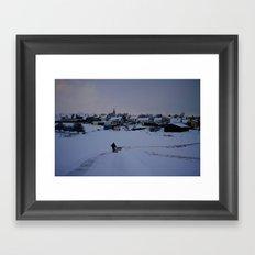 Heading Home Framed Art Print