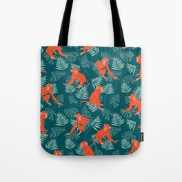 Monkey Forest Tote Bag