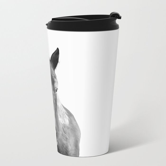 Horse Metal Travel Mug