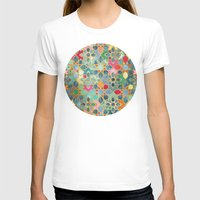 moroccan T-shirts featuring Gilt & Glory - Colorful Moroccan Mosaic by micklyn