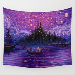 The Lantern Scene Wall Tapestry